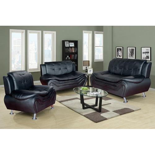beverly fine furniture linda 3 piece leather living room set