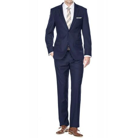Braveman Men's Classic Fit 2 Piece Suits (Fat Suit)