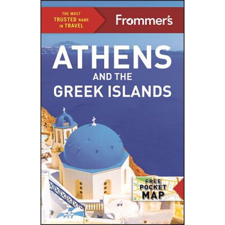 Frommer's athens and the greek islands - paperback: