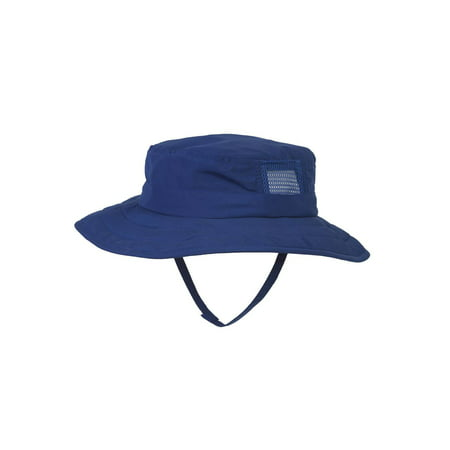 Sun Protection Kids Safari Sun Hat, Royal - Collapsible Top Hats