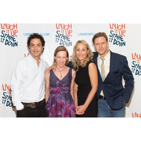 Maury Ginsberg Amy Hargreaves Katya Campbell Jayce Bartok At A Public Appearance For Laugh It Up Stare It Down Photo Op Theater Center In The Anne L Bernstein Studio New York Ny August 18 2015 Photo B (Halloween Photo Op Boards)