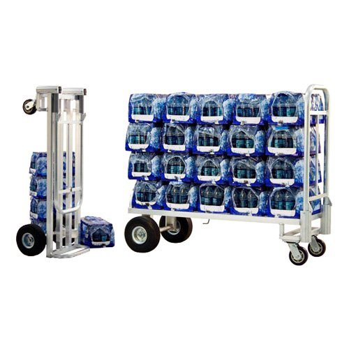New Age Industrial Route Delivery Cart w/ Flat Free Wheels