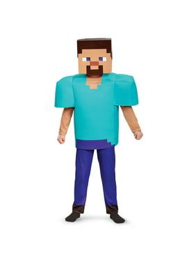 Minecraft Steve Deluxe Child Halloween Costume