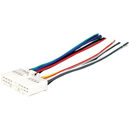 SCOSCHE HA02RB - 1986-1999 Honda Power/4-Speaker Wire Harness / Connector for Car Radio / Stereo Installation