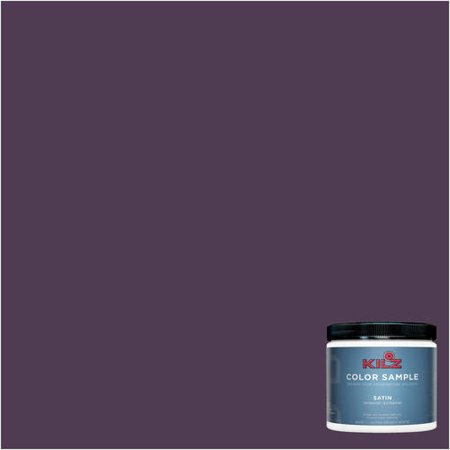 KILZ COMPLETE COAT Interior/Exterior Paint & Primer in One #RA110-02  Eggplant