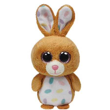 TY Basket Beanie Baby - CARROTS the Rabbit (3 inch)