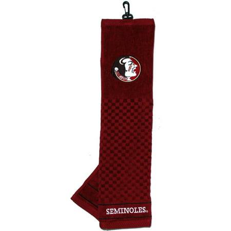 Penn State Golf Towel (Team Golf NCAA Florida State Embroidered Golf Towel )