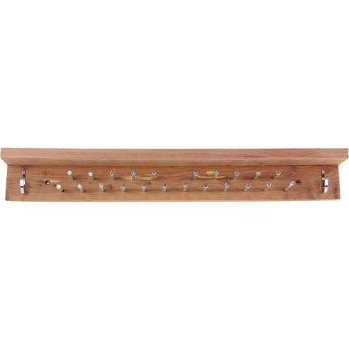 Household Essentials Cedar Accessory Rack