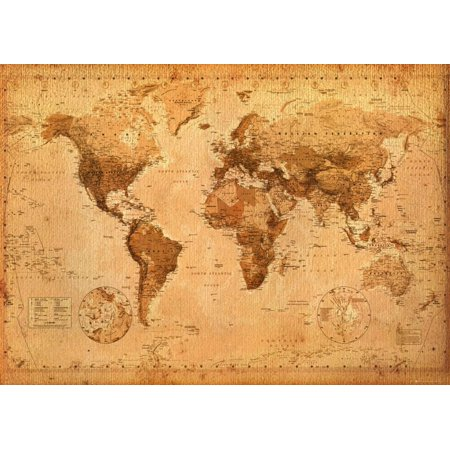 World Map Poster - x