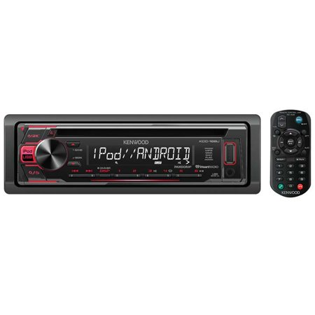 Kenwood Kdc-168u Single-din In-dash Mp3 Am/fm Cd Receiver (Kenwood Home Theater Receiver)