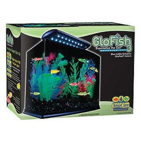GloFish 3-Gallon Aquarium Starter Kit with Power Filter & LED