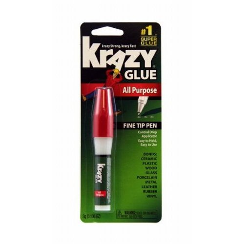 Krazy Glue KG82448R Instant Crazy Glue All Purpose Pen 0.106-Ounce