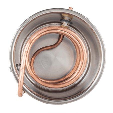 Zimtown 2/3/5 Gallon Alcohol Distiller, Wine Water Moonshine Still  Stainless Steel Copper Spirits Boiler Equipment, for Home Distilling