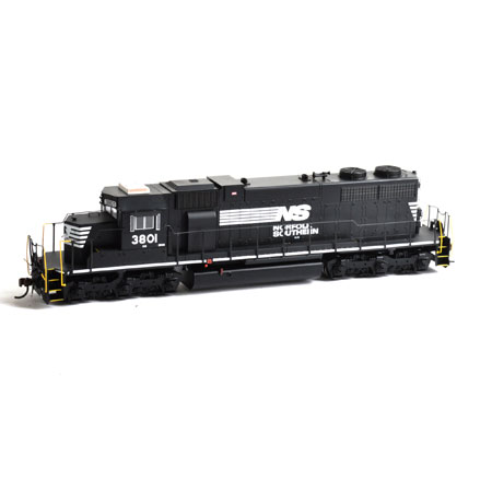 Athearn 88585 HO Norfolk Southern SD38 Diesel Locomotive ...