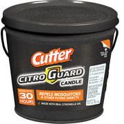 Cutter Citro Guard Citronella Candle, Slate Bucket, 17-oz