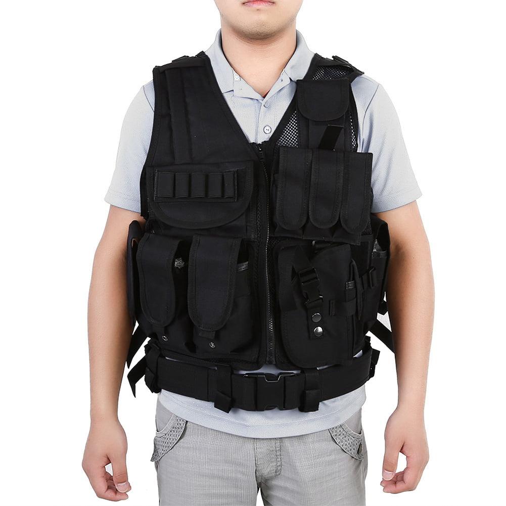 Best Bullet Proof Vests - Lv. life Military Guard Vest Plate Carrier Bullet Review