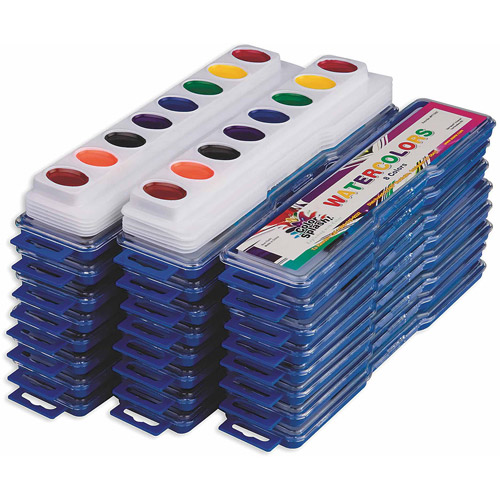 Color Splash! Watercolor Mega Pack, Pack of 36