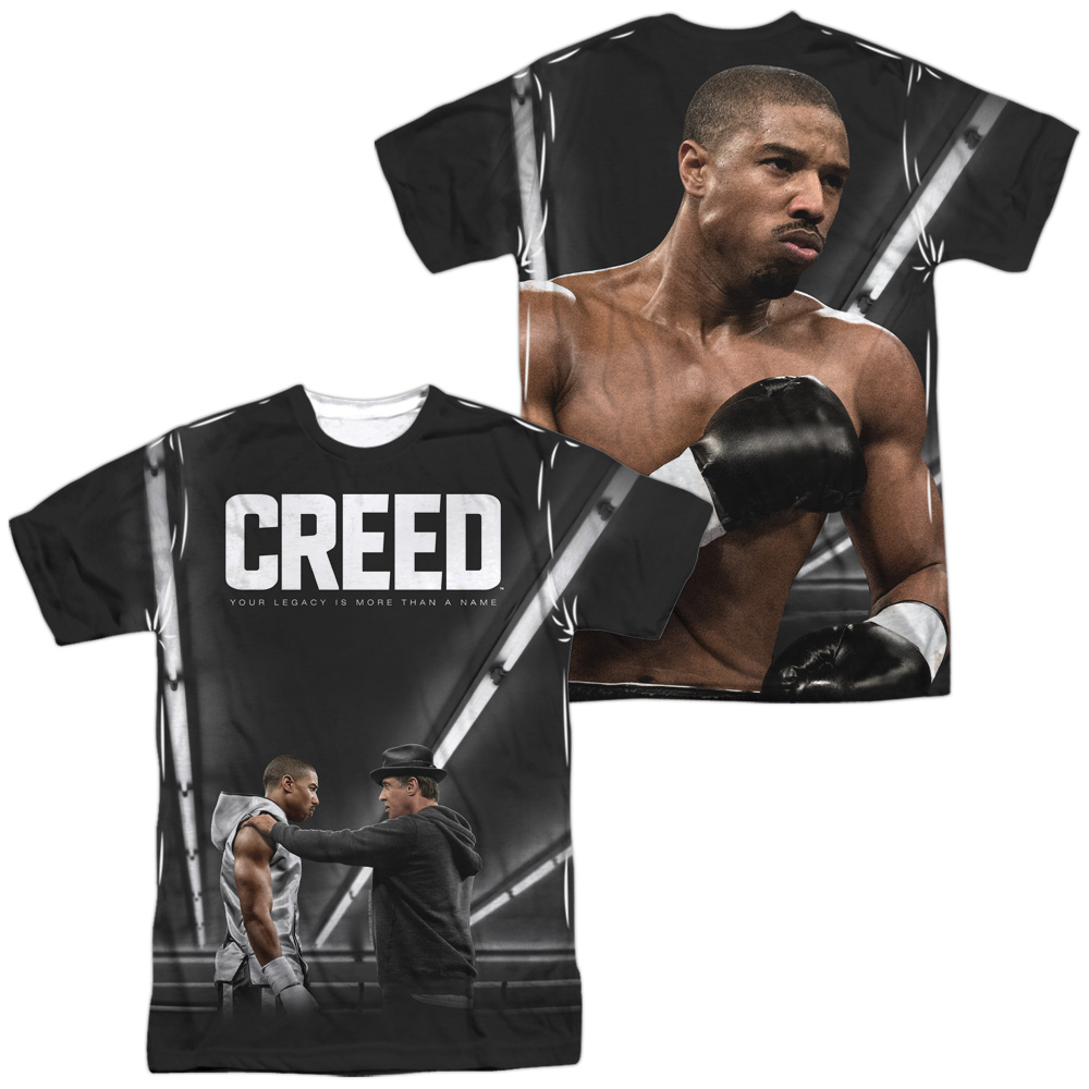 Creed Poster (Front Back Print) Mens Sublimation Shirt