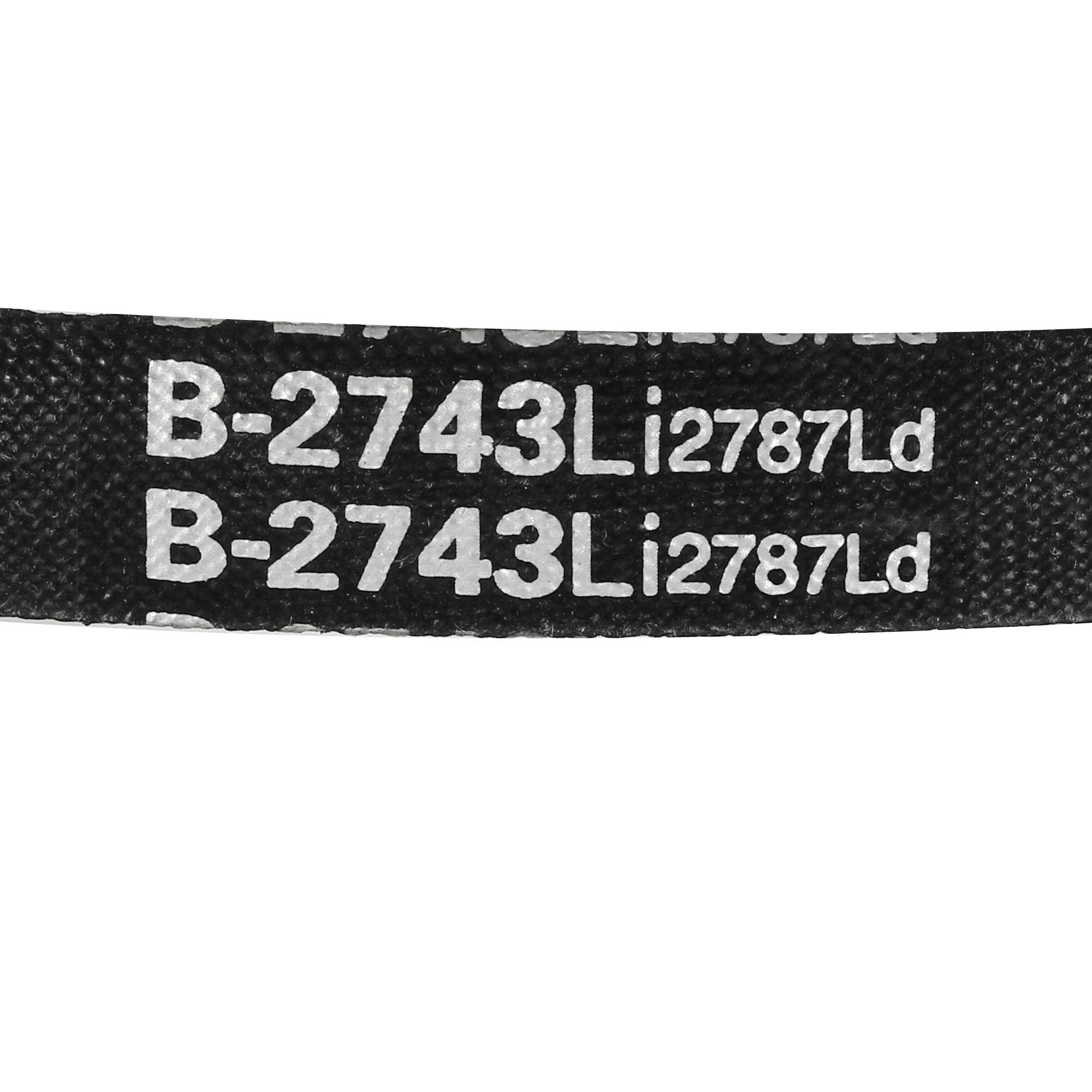 B-2743/B108 Drive V-Belt Inner Girth 108-inch Industrial Power Rubber Transmission Belt - image 1 de 4
