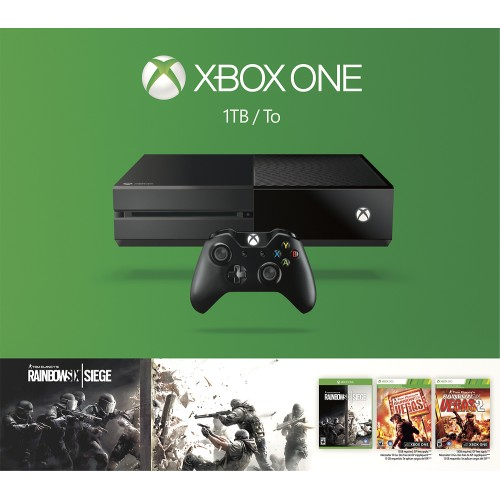 Microsoft Xbox One 1TB Console Rainbow Six Siege Bundle