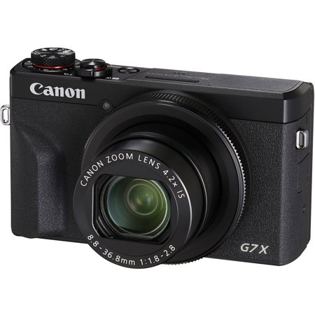 Canon PowerShot G7 X Mark III Digital Camera (Black) 3637C001