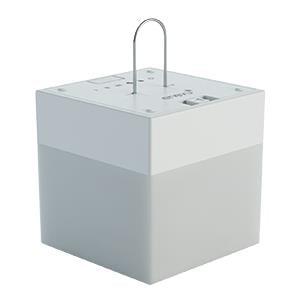 BONFIT 51000 Party Light Globe  Use With Bonfit Party Lights; Cube Shape; White Base - image 1 de 1