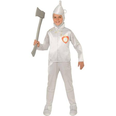 Boys Tin Man Oz Halloween Costume size Small - Tin Man Costume