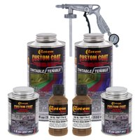 33105 Field Drab Brown T78 - Custom Coat Urethane Spray-On Truck Bed Liner, 0.43 Gallons - With Applicator Spray  Gun
