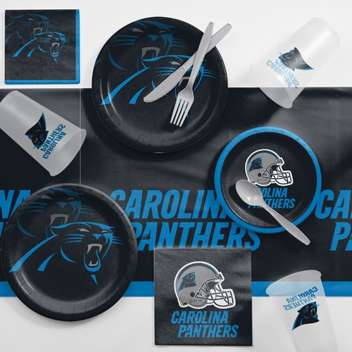 Carolina Panthers Game Day Party Supplies Kit