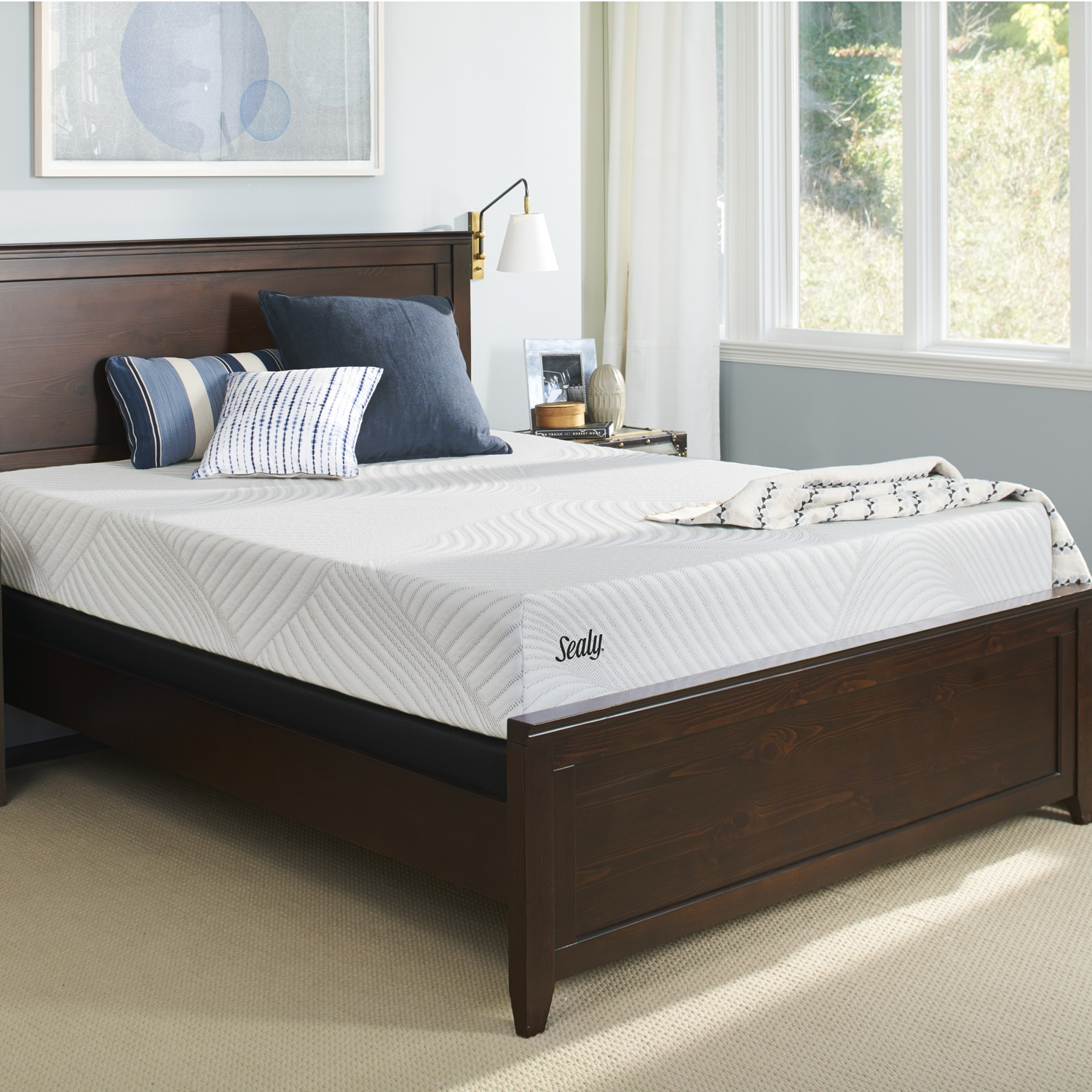 Sealy Conform Essentials 11.5 Inch Plush Memory Foam Mattress