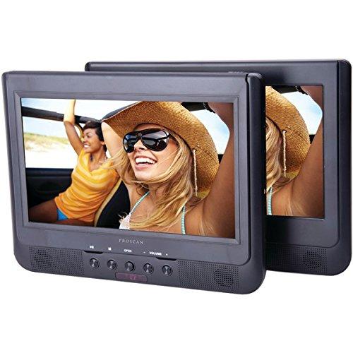 "Proscan Pdvd1034 10.1"" Dual-screen Portable Dvd Player"