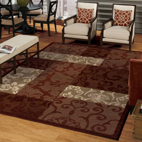 Better Homes and Gardens Scroll Patchwork Area Rug or Runner by Orian Rugs