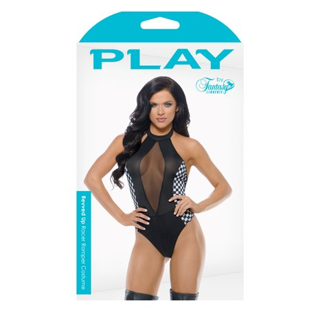 Play Womens Revved Up Race Car Driver - Child Race Car Driver Costume