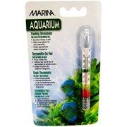 """Marina Aquarium Standing Thermometer .5\""""L x 3.8\""""W x 7\""""H"""