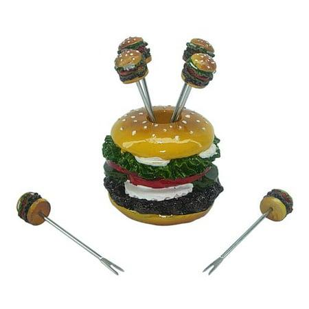 Winston Porter 7 Piece Hamburger Elegant Food Decoration Set