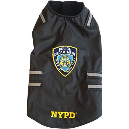 (Royal Animals NYPD Dog Vest with Reflective Stripes)