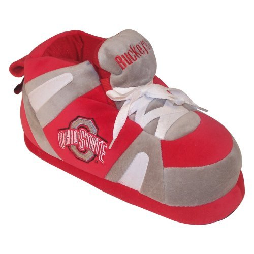 Comfy Feet - NCAA Ohio State Buckeyes Slipper