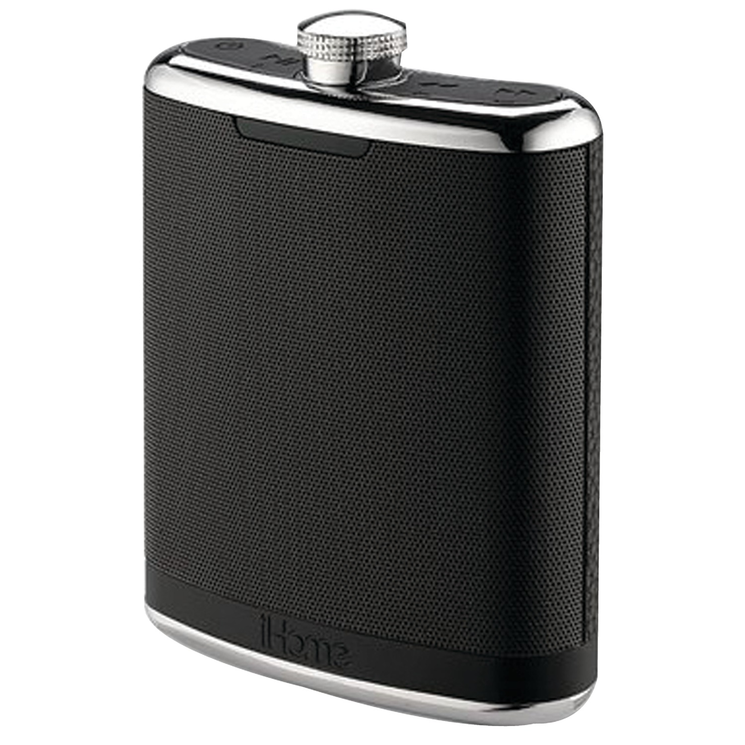 iHome IBT32BSC Flask-Shaped Stereo Bluetooth 4-Speaker System