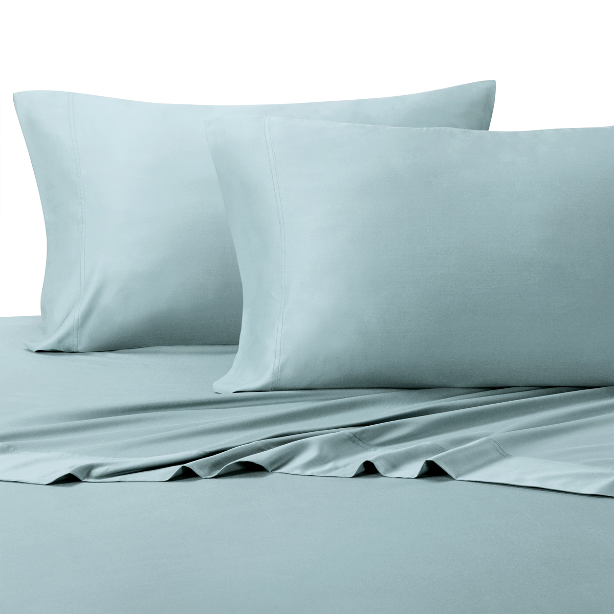 Luxury Bamboo Sheets Super Soft & Cool 100% Bamboo Viscose Bed Sheet Sets With Deep Pockets - Queen Size- White