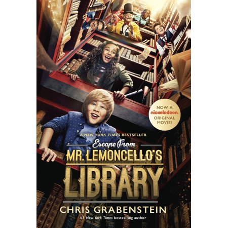 Escape from Mr. Lemoncello's Library Movie Tie-In Edition](Halloweentown Book From The Movie)