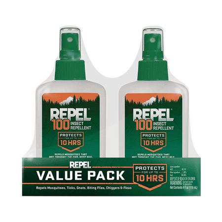 Repel 100 Insect Repellent, Pump Spray, 2-4-fl oz