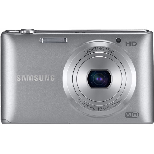Samsung Silver ST150F Digital SMART Camera with 16.2 Megapixels and 5x Optical Zoom