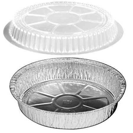 Safepro Combo 9 Inch Aluminum Foil Pans With Lids Case Of