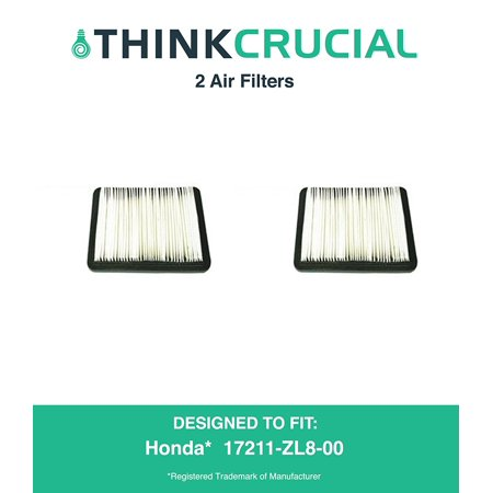 2 Premium Air Filter Fits Honda Part   17211 Zl8 023  17211 Zl8 000  17211 Zl8 003  Stens   102 713    Napa   7 08383  By By Think Crucial