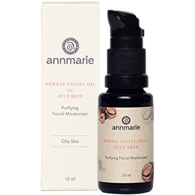 annmarie skin care - herbal facial oil for oily skin, 15ml