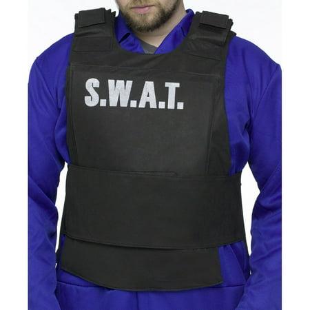 SWAT Vest Adult Halloween Accessory](Swat Halloween Costume Accessories)