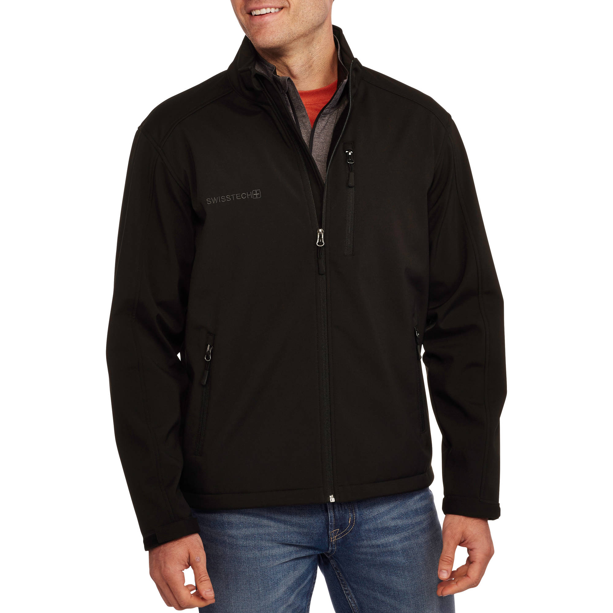 Swiss Tech Men's Softshell Jacket