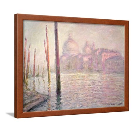 View of Venice, 1908 Framed Print Wall Art By Claude Monet