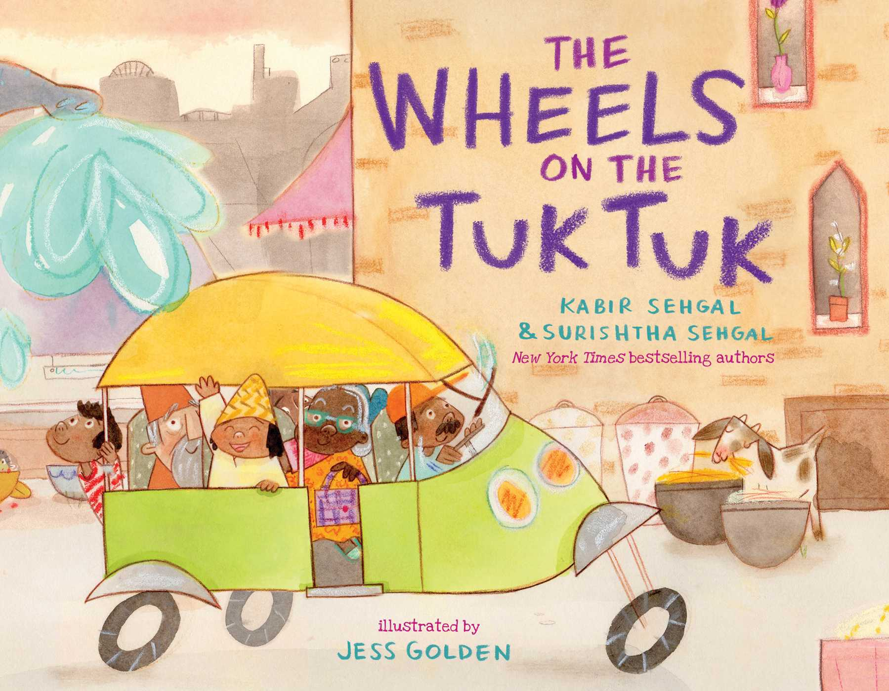 the wheels on the tuk tuk - walmart