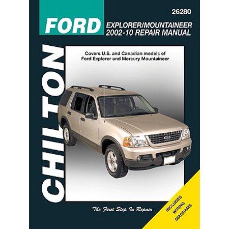 Ford Explorer/Mountaineer 2002-10 Repair (Ford Explorer Manual)